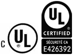 Underwriters Laboratories Incorporated (cUL) - Unités murales