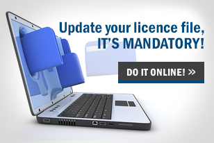 Update your licence file, it's mandatory!